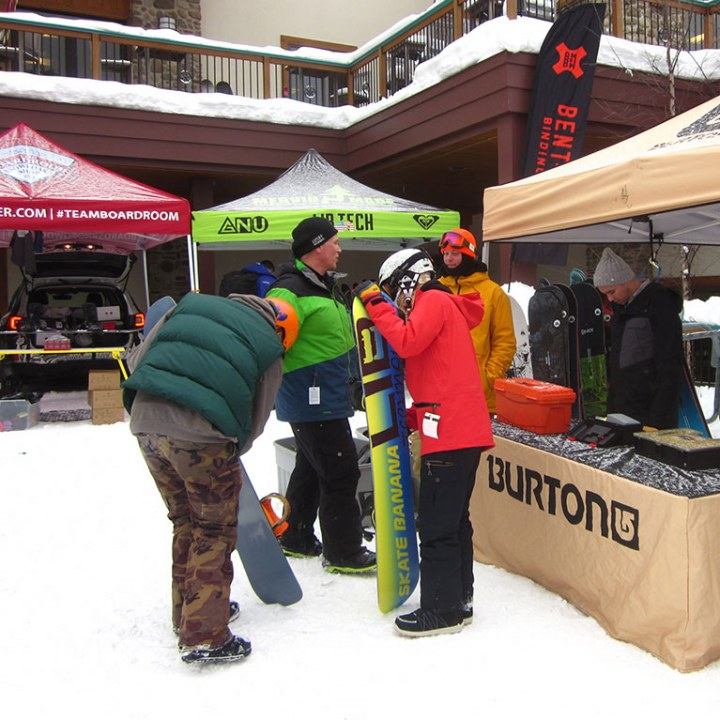 Demo Day Snowboard demos