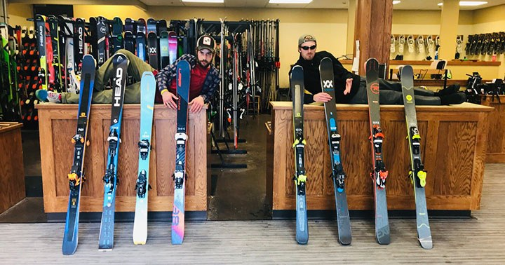Hi Performance Shop skis on sale