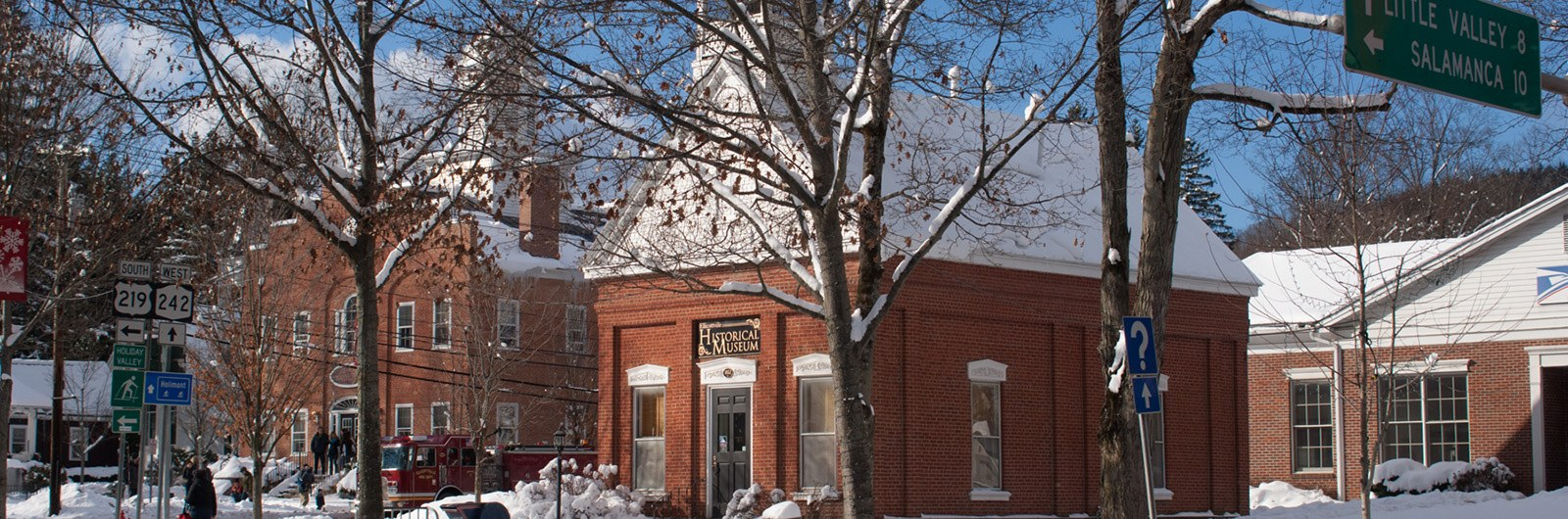 Ellicottville Historical Museum and Town Hall