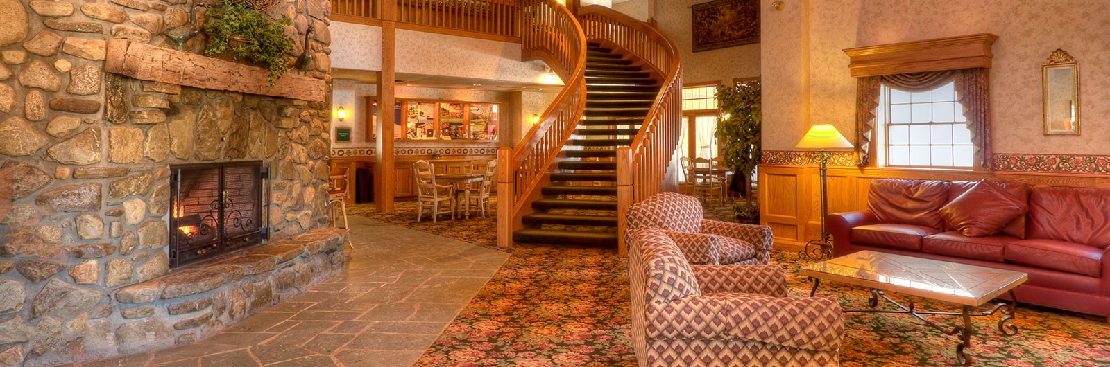 Lobby of the Inn at Holiday Valley