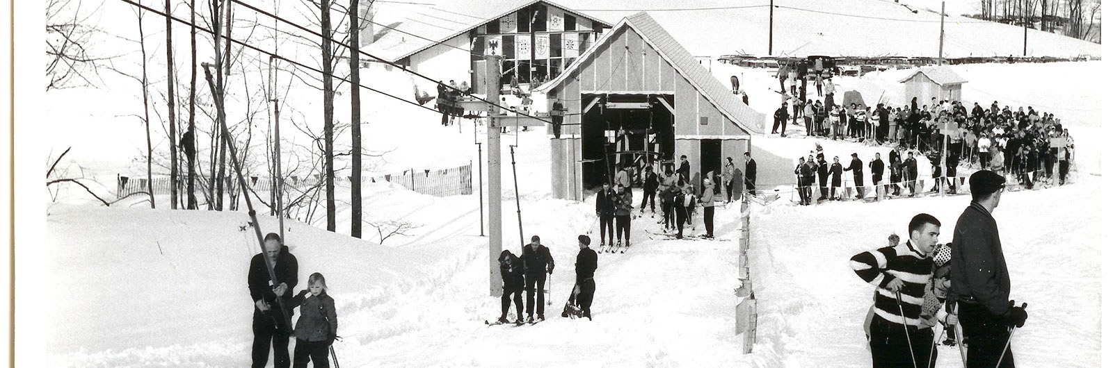 historical photo of Tannenbaum TBar and Warming Hut