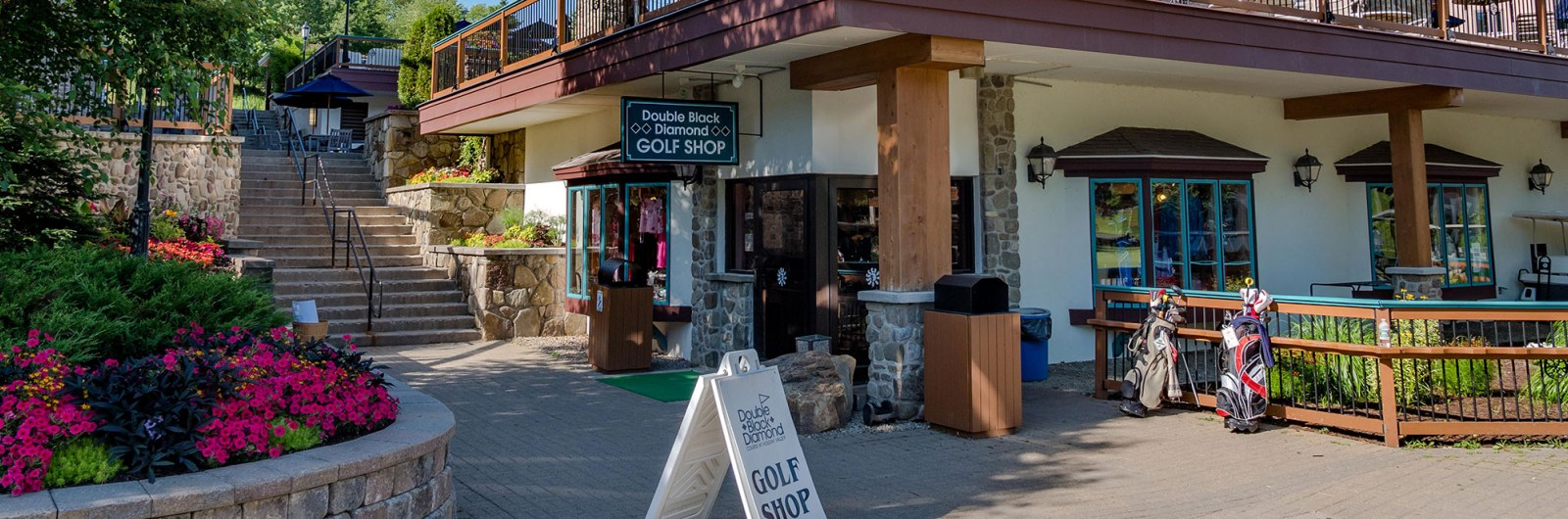 Golf shop at Holiday Valley resort