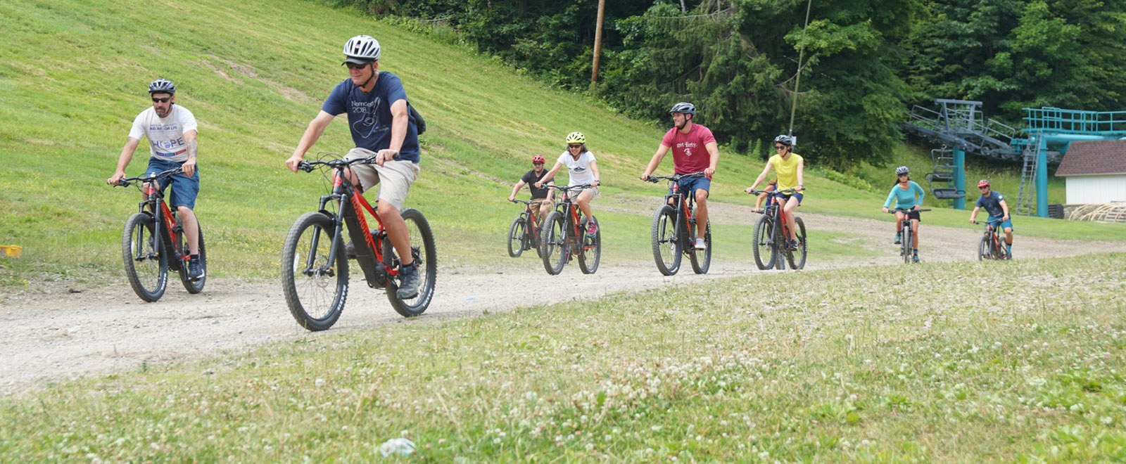 E-Bike Rentals at Holiday Valley!