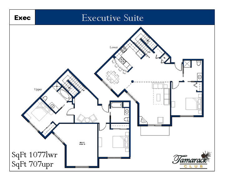 Executive suite layout