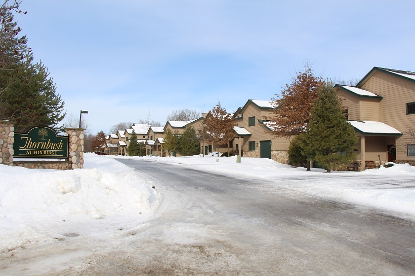 View of Thornbush Townhomes