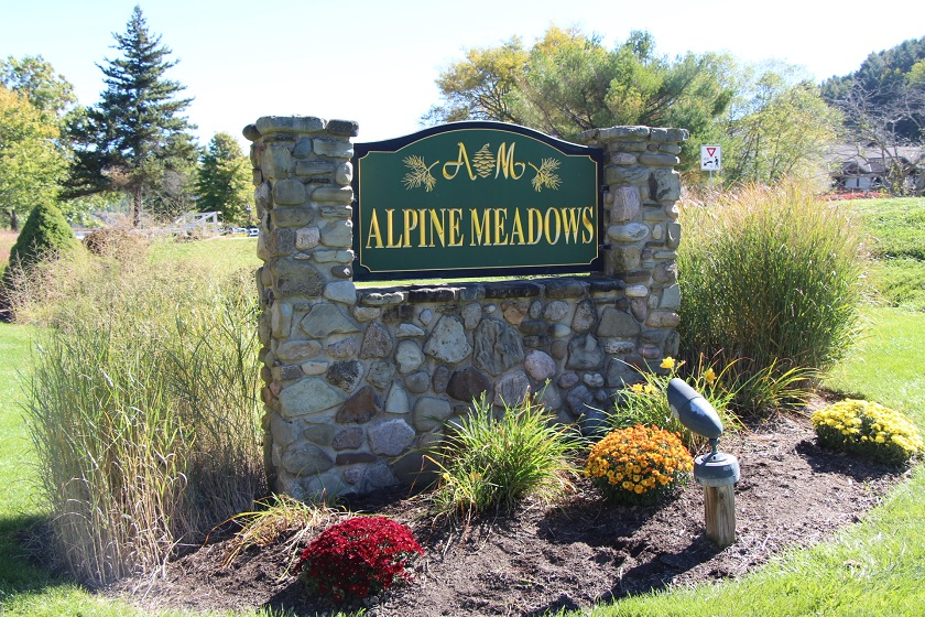 Alpine Meadows Sign