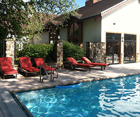 Inn at Holiday Valley outdoor heated pool