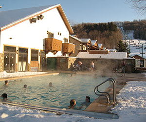 Inn Pool Winter