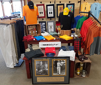 mens' golf apparel