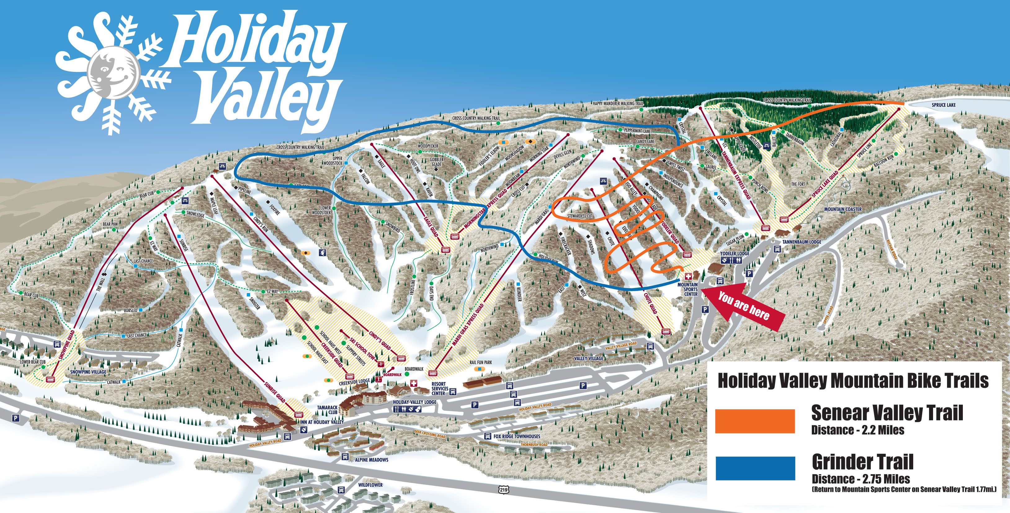 Holiday Valley Mountain Bike Trails