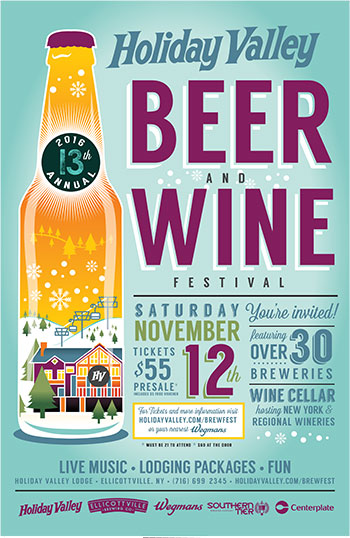 Beer and Wine Festival poster