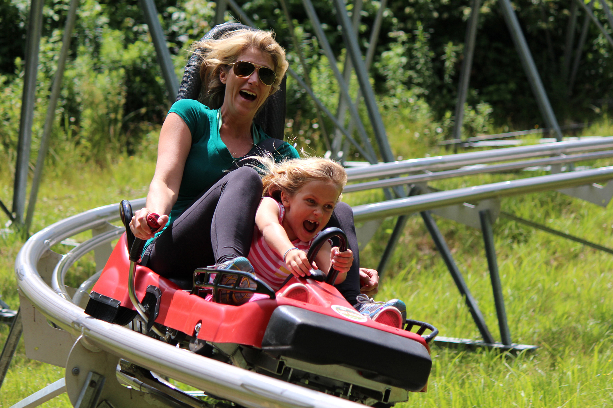 Holiday Valley Mountain Coaster Summer