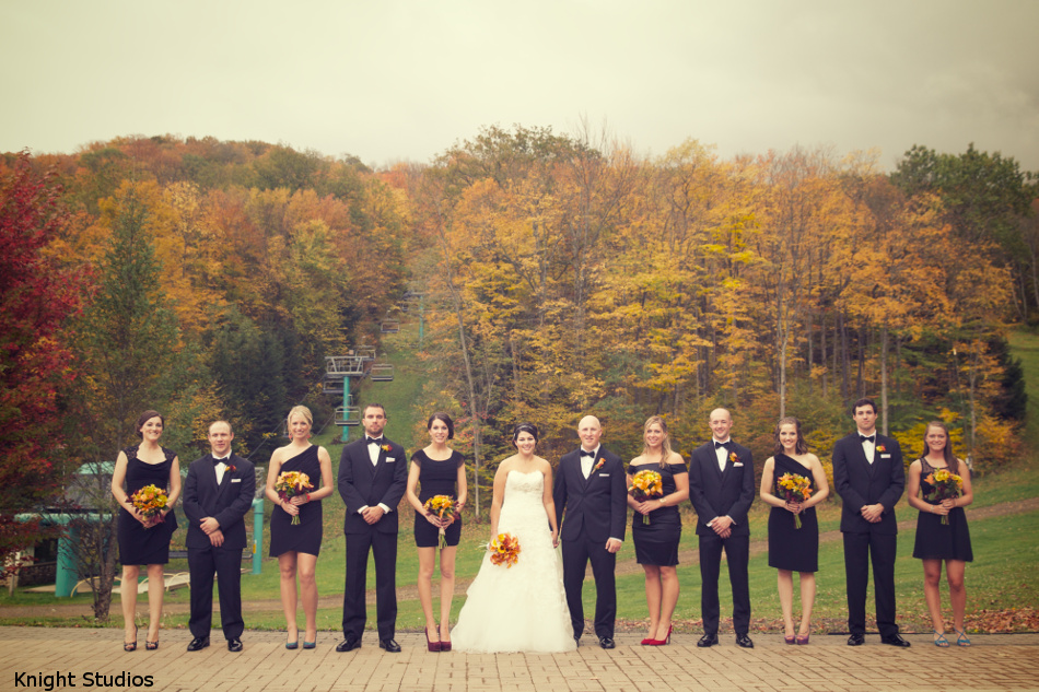 Bridal Party Fall