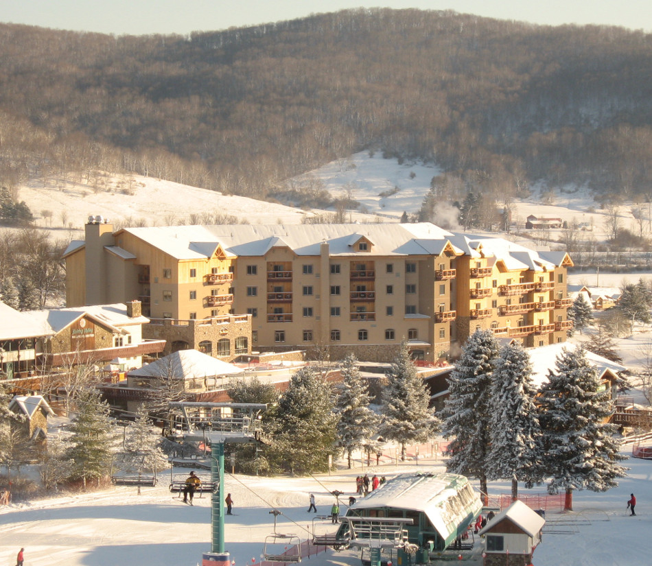 Tamarack Lodge Winter