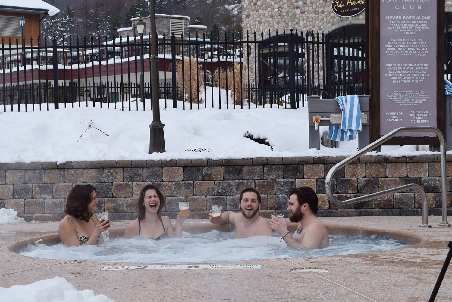 Outdoor Hot Tub at Tamarack